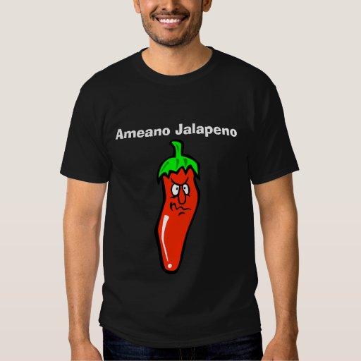 Camiseta del Jalapeno de Ameano Playeras