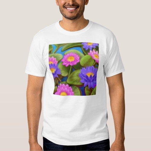 Camiseta del jardín de Waterlily Playeras