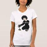 Camiseta del jardinero de las señoras Emo