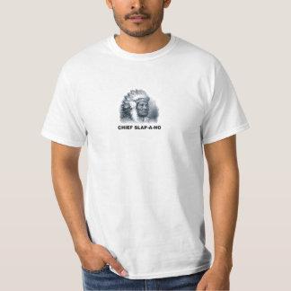 Camiseta del jefe Palmada-UNO-Ho
