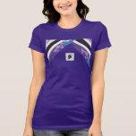 Camiseta del jersey de Bella de las mujeres