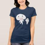 Camiseta del jersey de Bella de las mujeres de Gog