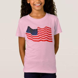Camiseta del jersey de Bella de los chicas de la