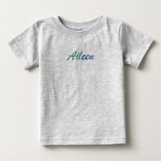 Camiseta del jersey de la multa del bebé de Aileen