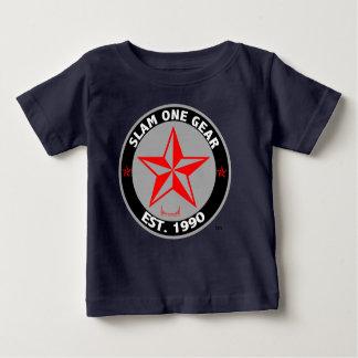 Camiseta del jersey de la multa del bebé de S1G