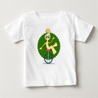Camiseta del jersey de la multa del bebé del robot