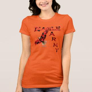 Camiseta del jersey de las señoras del ejército de