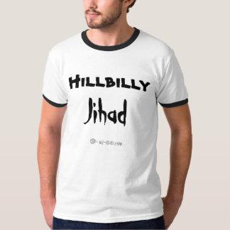 Camiseta del Jihad del Hillbilly Playeras