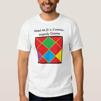 Camiseta del juego de Cosmo-nopoly Remeras