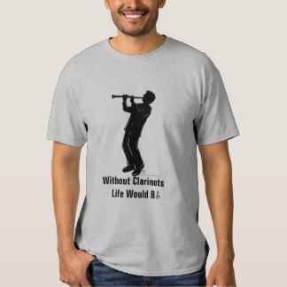 Camiseta del jugador del Clarinet Playeras