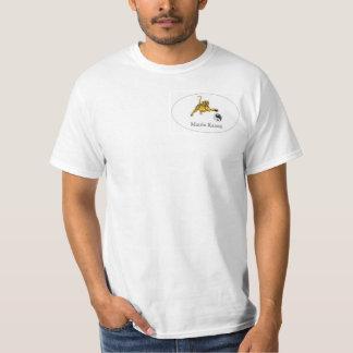 ¡Camiseta del karate de la matriz! Playera