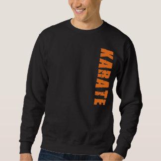 Camiseta del karate sudadera con capucha