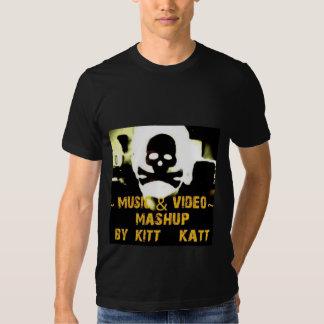 Camiseta del kaTT del kiTT de la música de Mashup Remeras