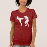 camiseta del kickboxer playera