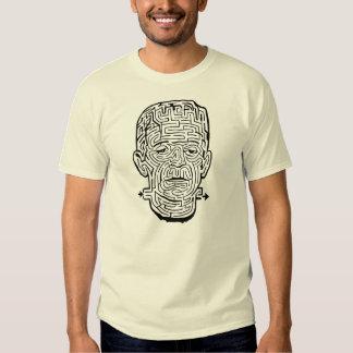 Camiseta del laberinto de Frankenstein del vintage Camisas