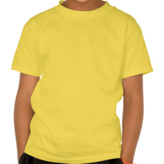 Camiseta del laboratorio del amarillo del amigo