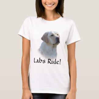 Camiseta del labrador retriever