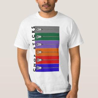 camiseta del lacrosse playera