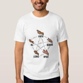 Camiseta del Lagarto-Spock Playeras