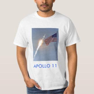 camiseta del lanzamiento de Apolo 11 Playeras