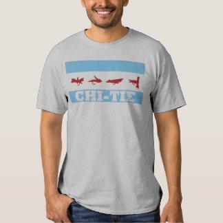 Camiseta del lazo de la ji polera