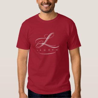 Camiseta del legato de los hombres polera