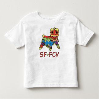 Camiseta del león del niño