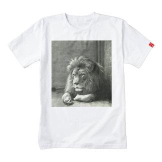 Camiseta del león por ensayo y error playera zazzle HEART