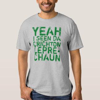 Camiseta del Leprechaun de Crichton Playeras