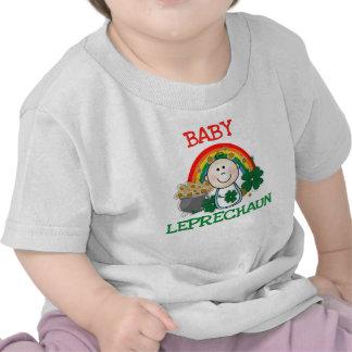 Camiseta del Leprechaun del bebé