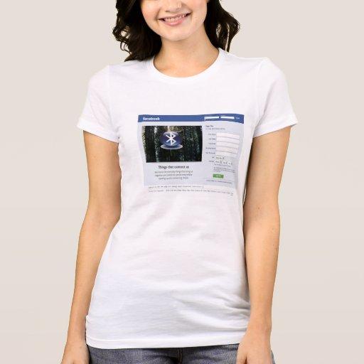 camiseta del libro de la cara