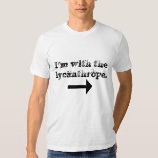 Camiseta del licántropo playera