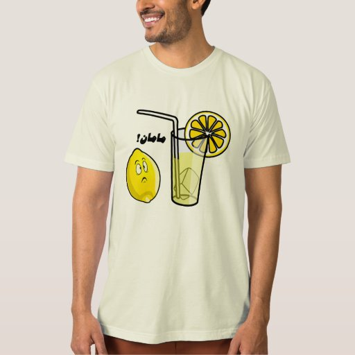 Camiseta del limón playeras