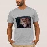 Camiseta del lobo gris
