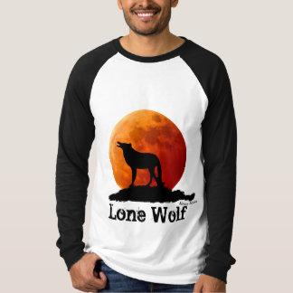 Camiseta del lobo solitario