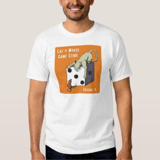 Camiseta del logotipo camisas