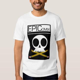 Camiseta del logotipo de EpiComix Camisas