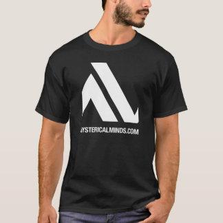 camiseta del logotipo de Hystericalminds.com