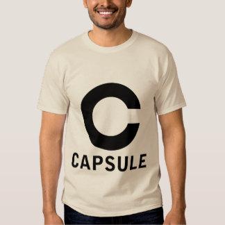 Camiseta del logotipo de la cápsula (gráfico camisas