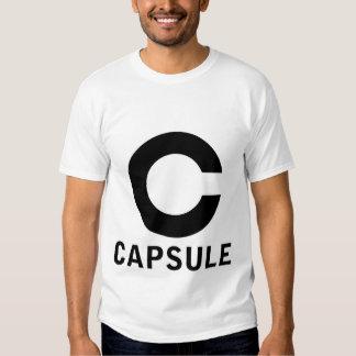 Camiseta del logotipo de la cápsula (gráfico playeras