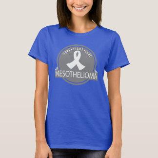 Camiseta del logotipo de la curación de la lucha