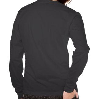 Camiseta del logotipo de la mujer negra Largo-Envu Playera