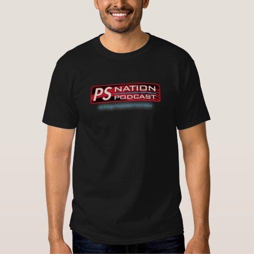 Camiseta del logotipo de la nación del picosegundo poleras