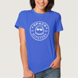 Camiseta del logotipo de las mujeres de Hipsters® Poleras