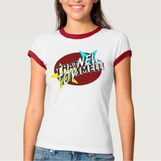 Camiseta del logotipo de las señoras TNTS Poleras