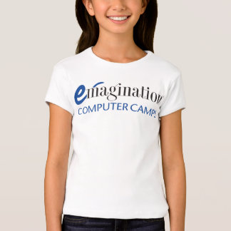 Camiseta del logotipo de los campos de ordenador playeras