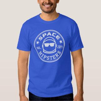 Camiseta del logotipo de los hombres de Hipsters® Playera
