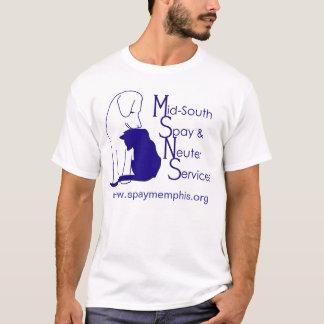 Camiseta del logotipo de MSNS