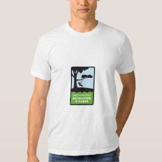 Camiseta del logotipo de SF RPD para los hombres Playera