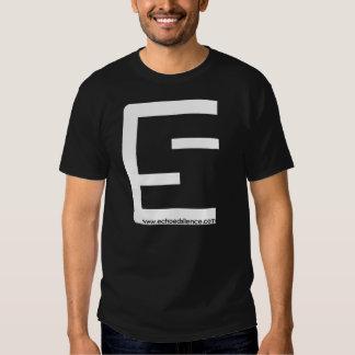 Camiseta del logotipo del ES de los hombres Camisas